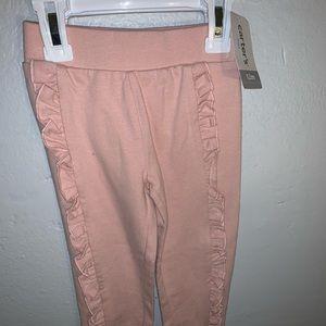 Baby Carters pink ruffle pants